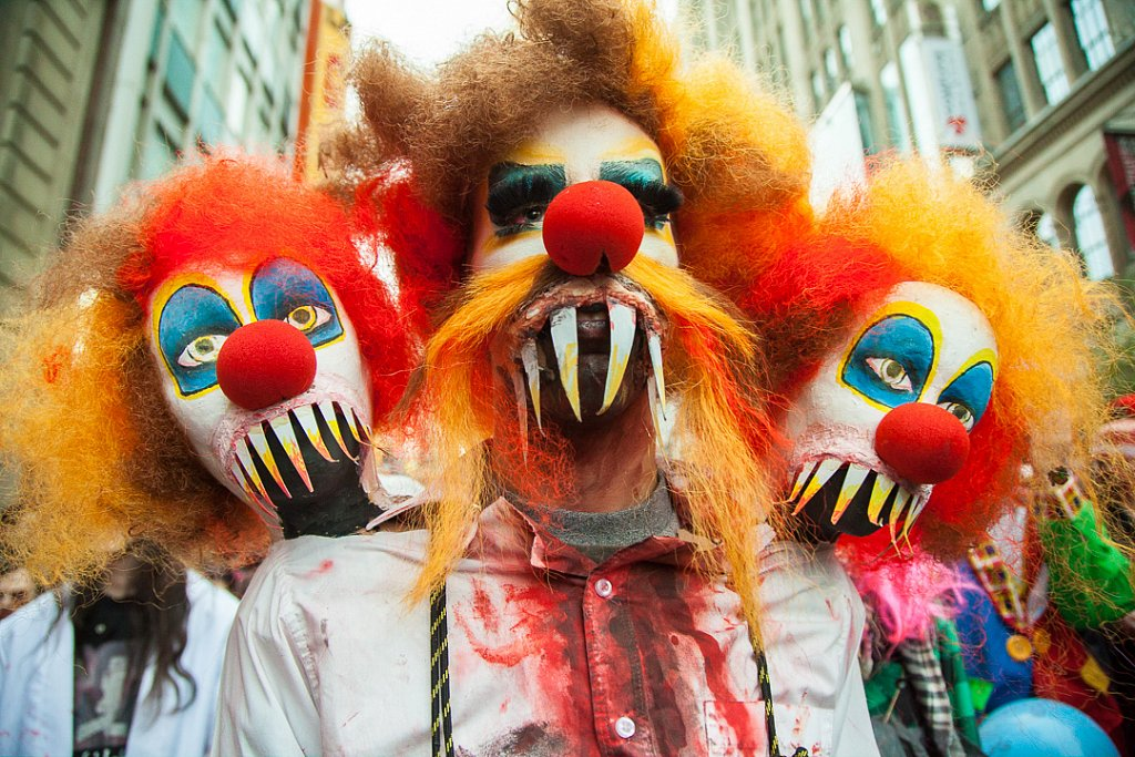 Thousands attend the annual Zombie Walk
