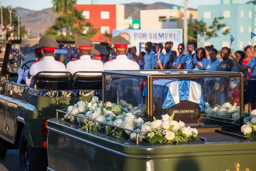 Fidel Castro's ashes